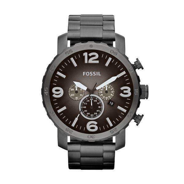 5ffc1361aad6df Relógio Fossil Masculino Nate - JR1437/4PN. JR14374PN