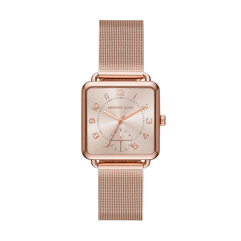 fde895fffd2a7 Relógio Michael Kors Feminino Brenner - MK3664 4XN - timecenter