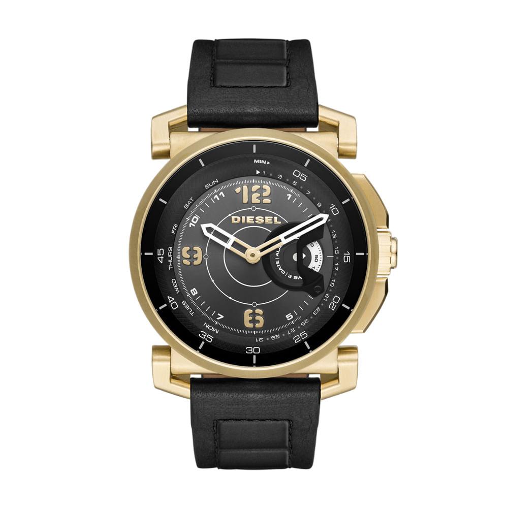Smartwatch Diesel On Híbrido Masculino Dourado - DZT1004 0PI ... 4fb7c39c53