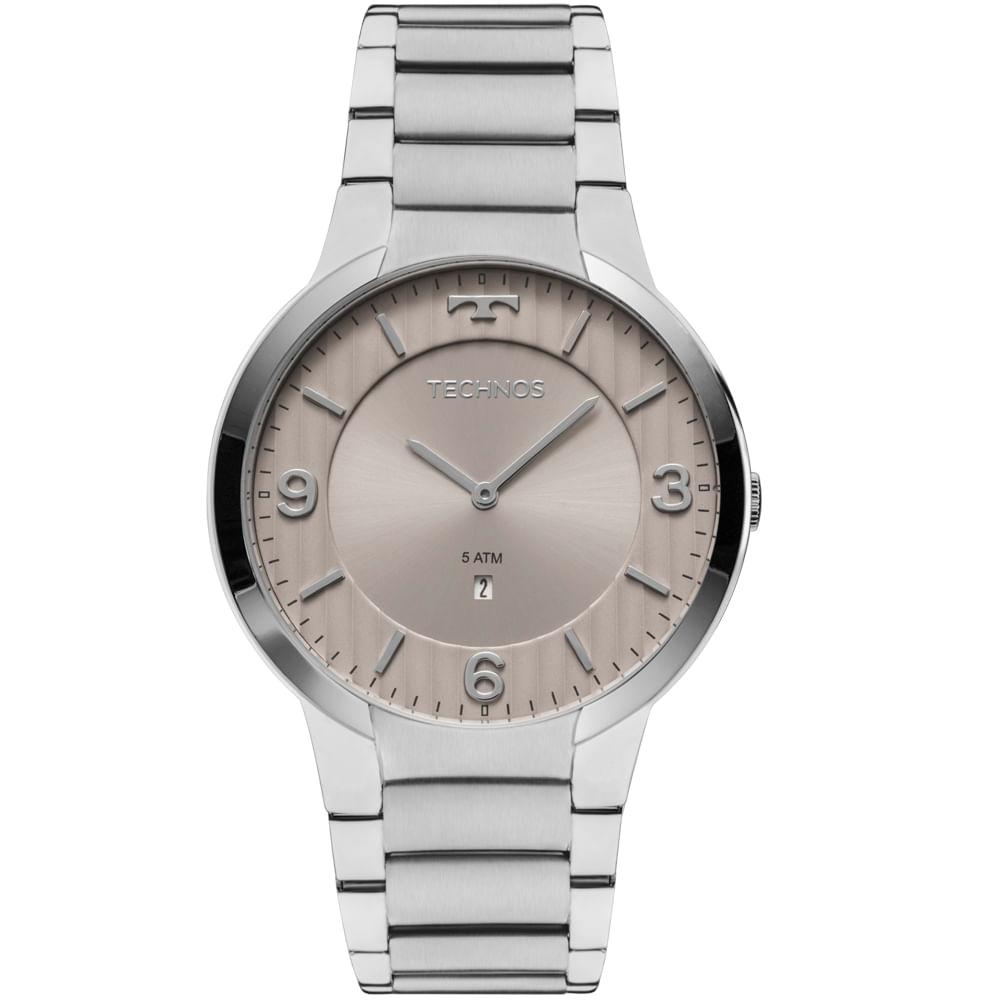 00375a74bae30 GL15AO1C. GL15AO1C. Technos. Relógio Technos Slim Masculino ...