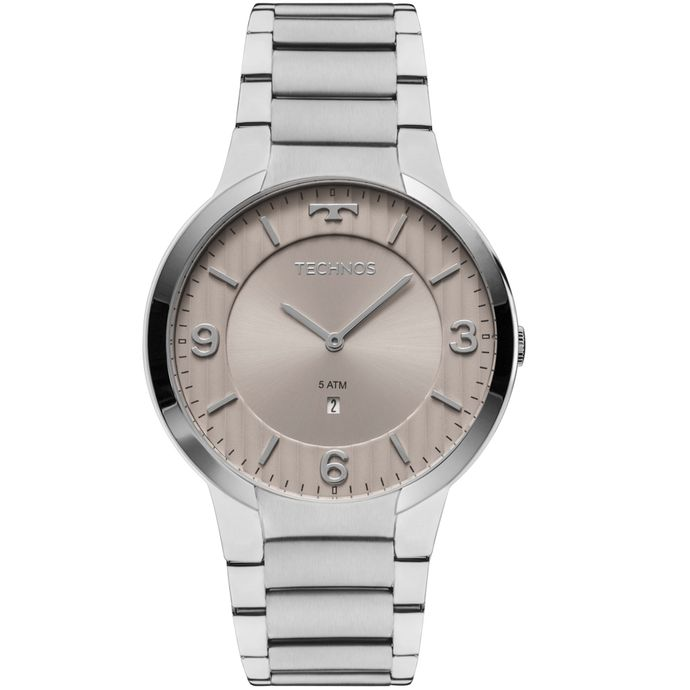25226bea561 Relógio Technos Slim Masculino GL15AO 1C