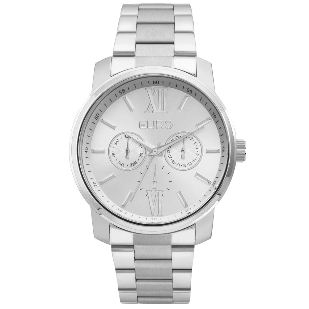 88b82da296f Relógio Euro Feminino Espelhados EU2036YLB 3K - Prata - timecenter