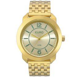 Relógio Euro Feminino New Basics EU2035YLF 4A - Dourado 7a97f941bb