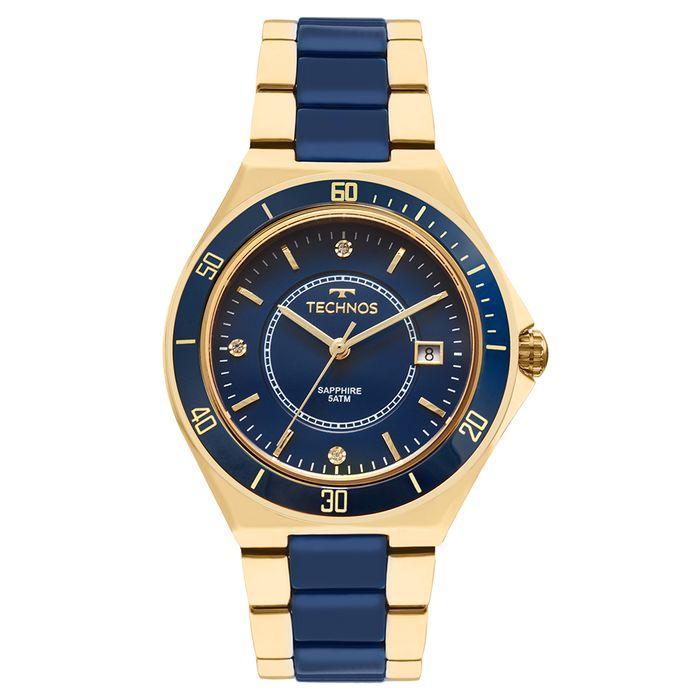 Relógio Technos Ceramic Feminino 2115MMN 4A - technos 2248df7f0d