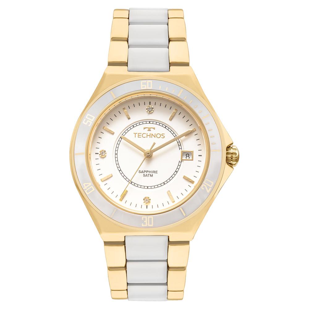 7509ac8d83b Relógio Technos Ceramic Feminino 2115MMN 4B - timecenter