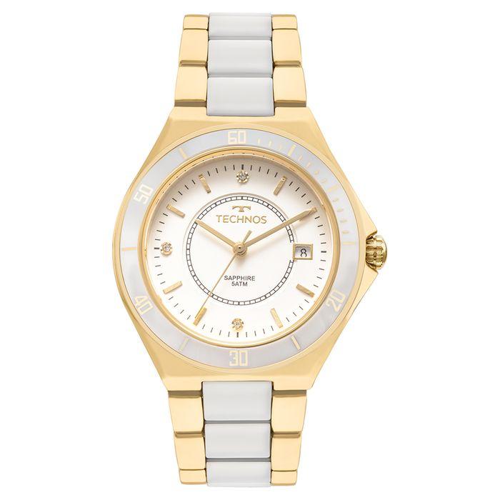 Relógio Technos Ceramic Feminino 2115MMN 4B - technos 6e4cb742e2