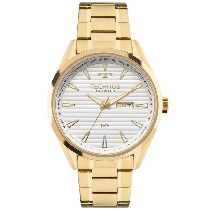 b739c3456c8 Relógio Technos Masculino Classic Automatico Dourado - 8205OG 2P ...