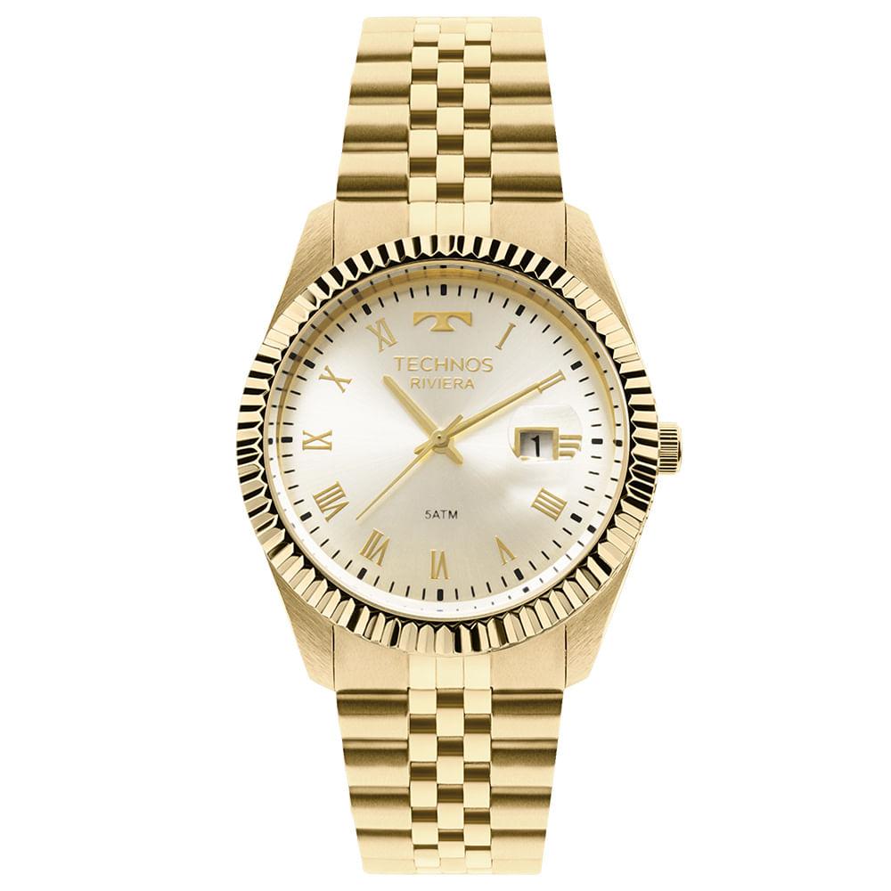 Relógio Technos Riviera Feminino 2115KQQ 4X - timecenter 7b5692ecda