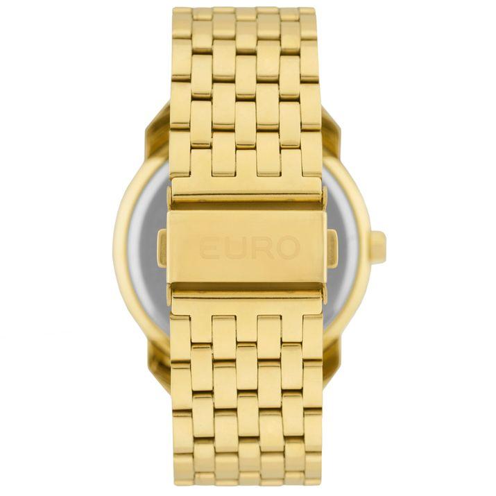 38989f0daf2 Relógio Euro Feminino New Basics EU2035YLF 4A - Dourado