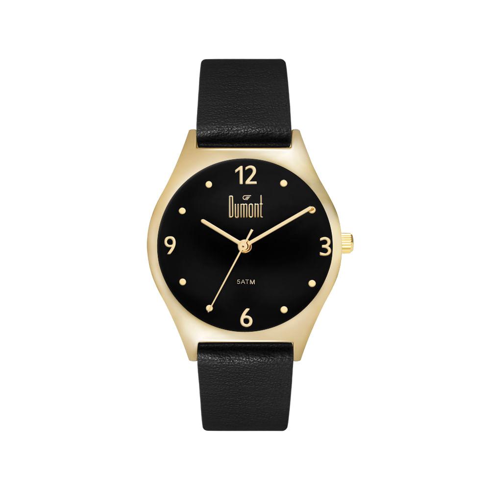 848d7af3b47 Relógio Dumont London Preto DU2035LVY 2P - timecenter