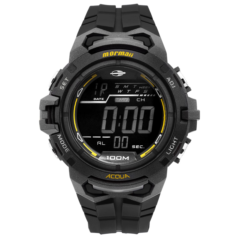 Relógio Mormaii Masculino Action - MO1147A 8P - timecenter 88df59eecc