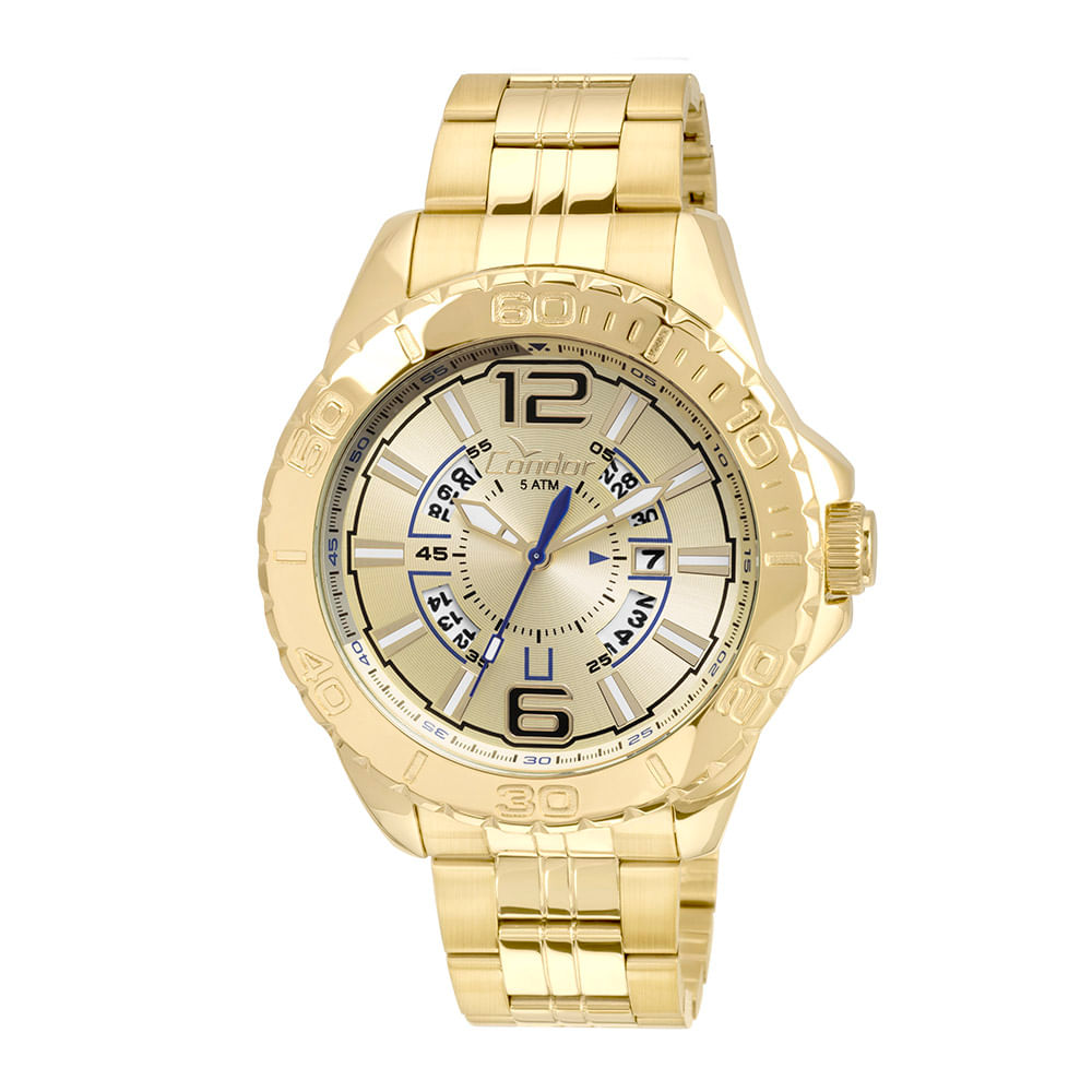 805fb5b6034 Relógio Condor Masculino Civic CO2315BC 4D - Dourado - timecenter
