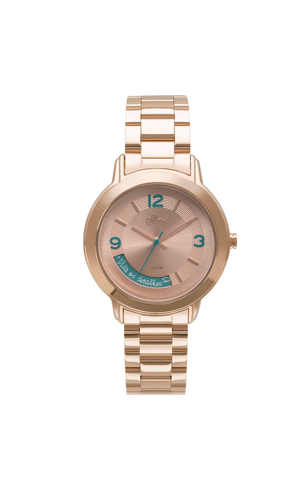 e1d704ac4a3 ... Rose Foto 2 - Kit Relógio Allora Feminino Serena AL2315AJ K4T ...