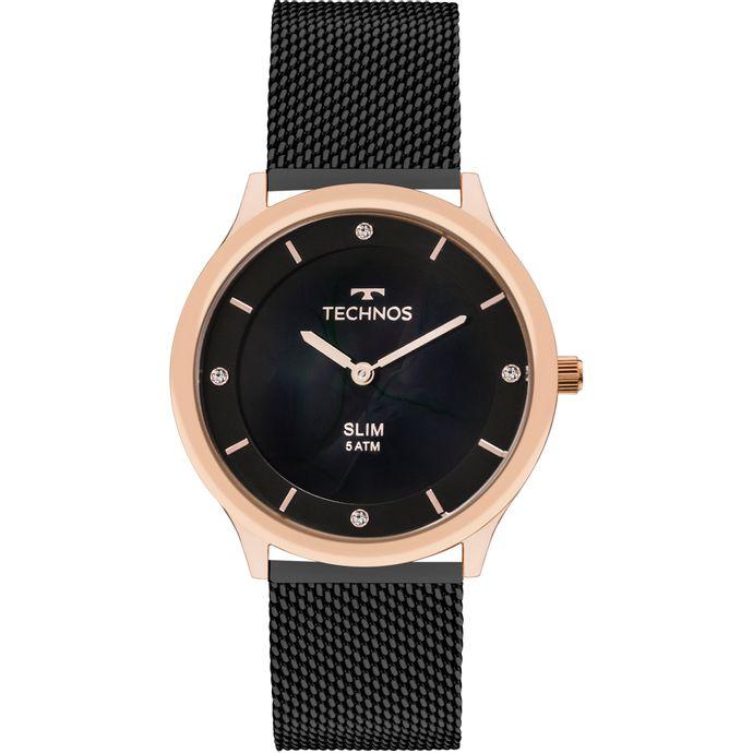 Relógio Technos Feminino Slim GL20HI 4P 86378c7c6d