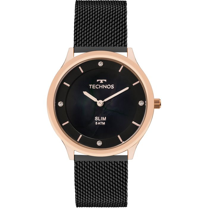 Relógio Technos Feminino Slim GL20HI 4P - technos 61e927b783