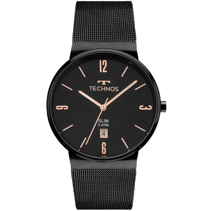 1c826611d6e26 Relógio Technos Unissex Slim GM10YJ 4P - technos