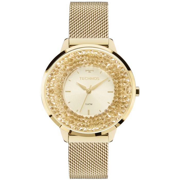 Relógio Technos Feminino Crystal 2035MLG 4X - technos 71af7c7bf4