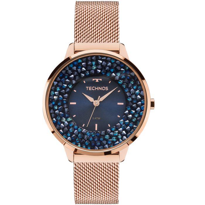 8f07639bd81 Relógio Technos Feminino Crystal 2035MLE 4A - technos