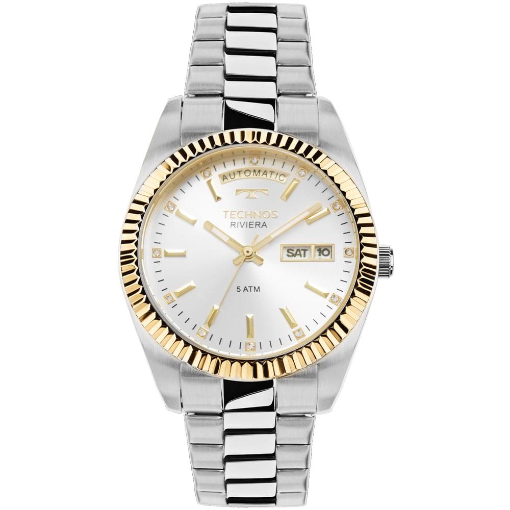 Relógio Technos Feminino Riviera 8205OB 1K - timecenter b8bef74d98