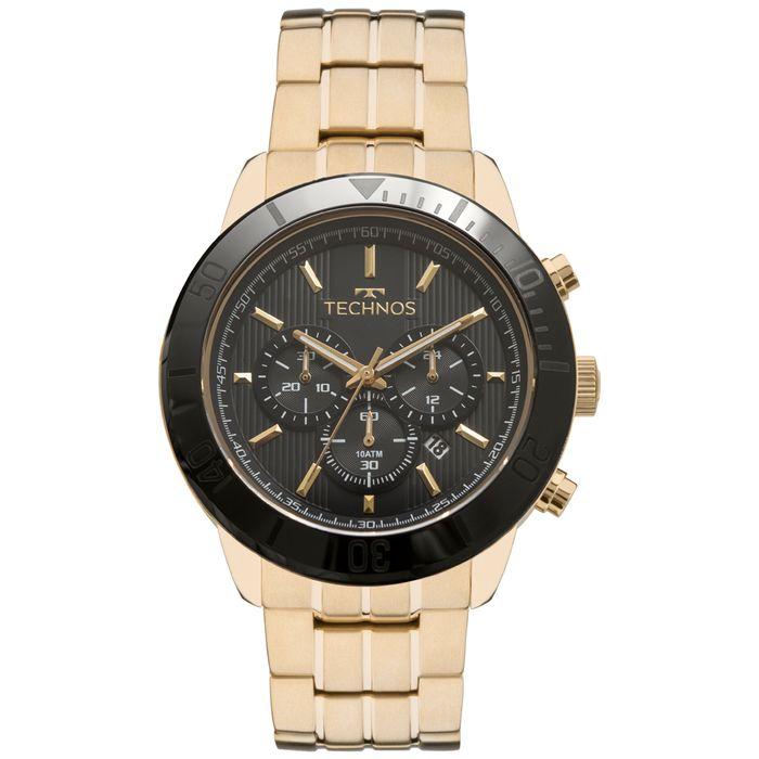 Relógio Technos Masculino Ceramic Saphire JS25BR 4P - technos bee98c6c74