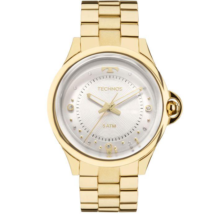 Relógio Technos Feminino Crystal 2039BM 4K 34e6669c26