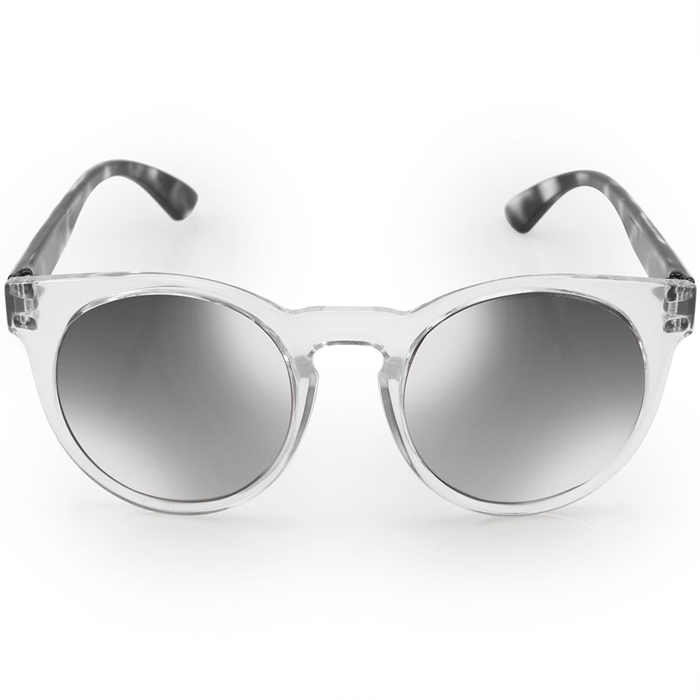 9d43056792907 Óculos de sol Euro Feminino Fashion fit Transparente - E0001DC043 8C ...
