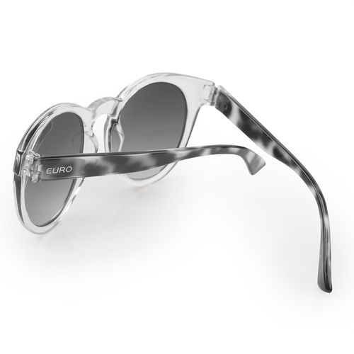 Óculos de sol Euro Feminino Fashion fit Transparente - E0001DC043 8C - euro 7f50862703