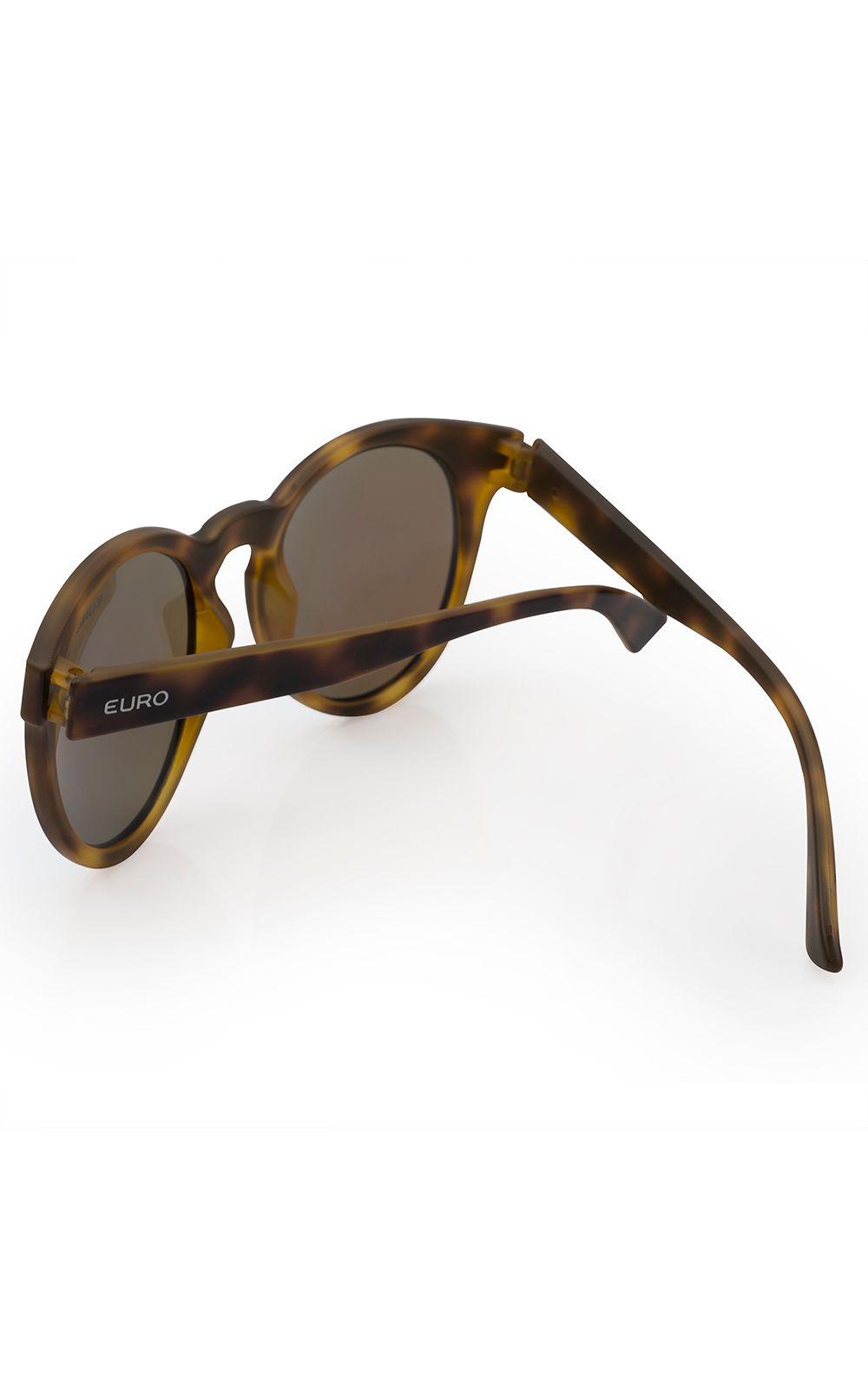 ... Foto 3 - Óculos de sol Euro Feminino Fashion Fit Azul Espelhado -  E0001FC697 8A 85b9cea7b6