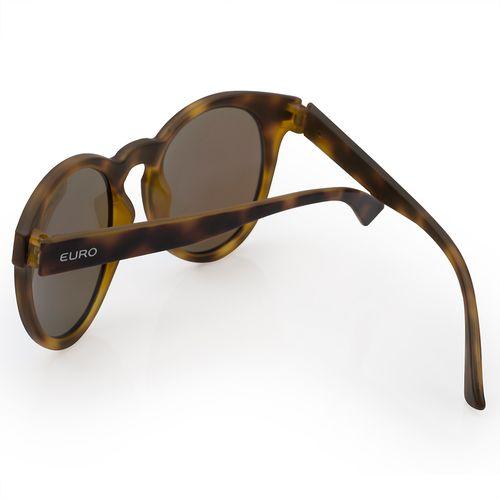 2593558a5e94e Óculos de sol Euro Feminino Fashion fit Azul Espelhado - E0001FC697 8A -  euro