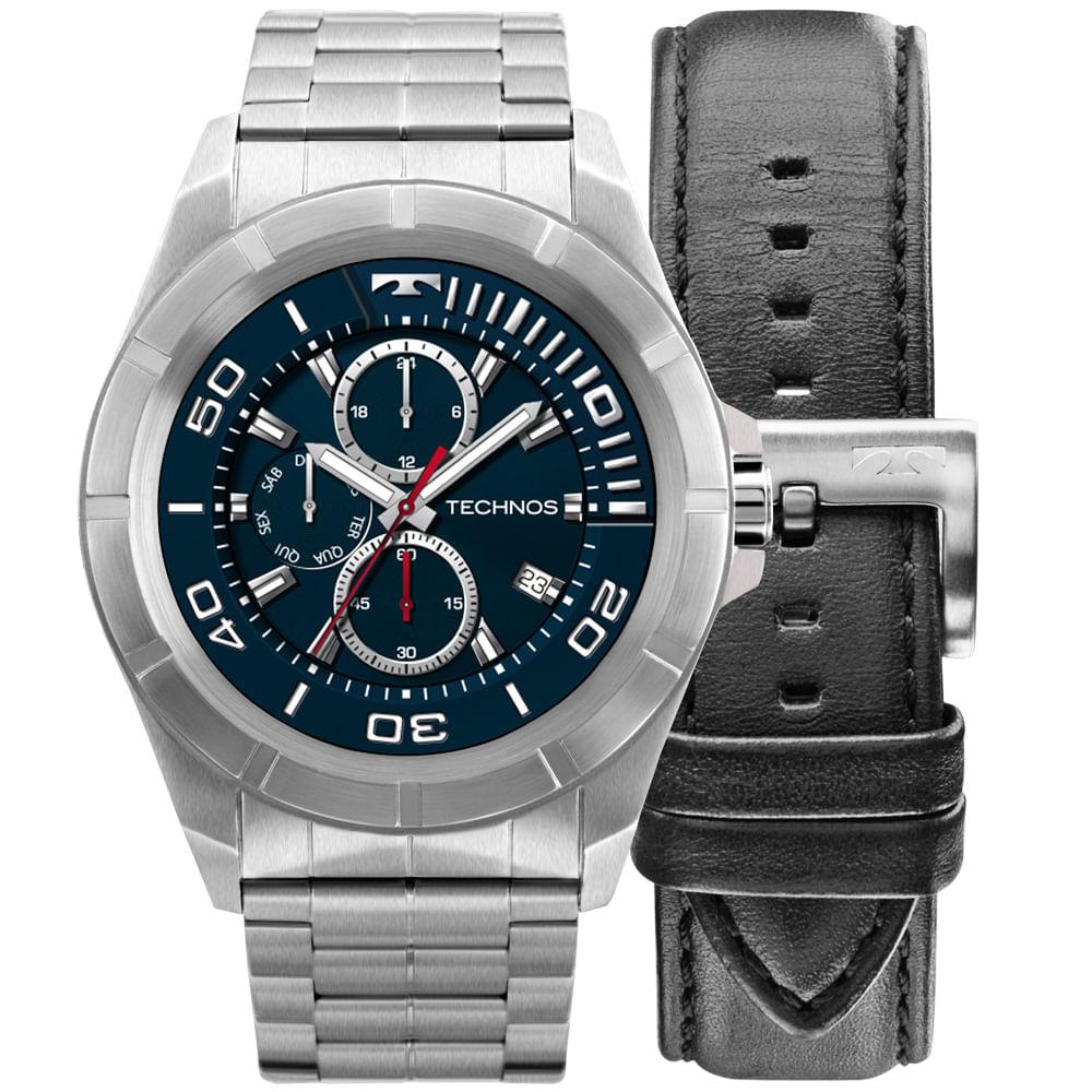 Relógio Technos Connect Full Display 3.0 Prata SRAA 1P - timecenter 2dfa3bb7c3