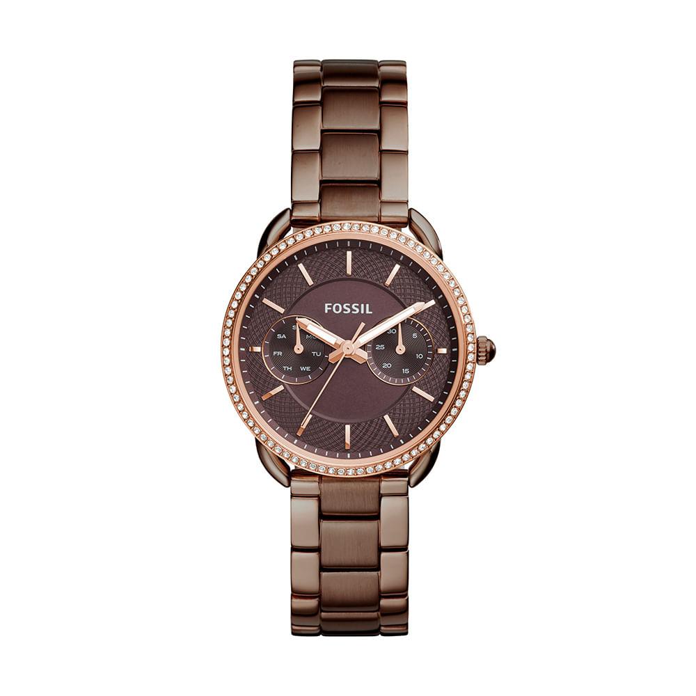 Relógio Fossil Feminino Tailor - ES4258 4MN - fossil ba0965aa6a