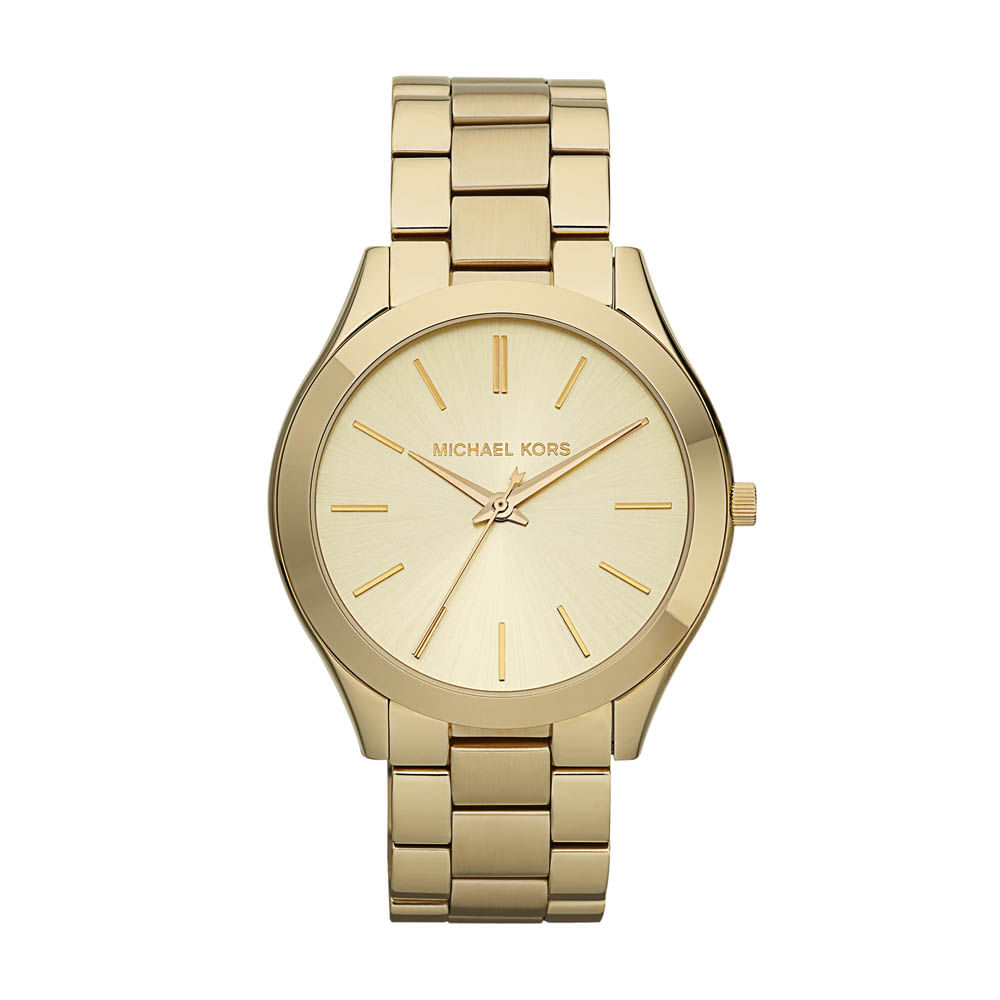 d5dddcf485e18 Relógio Michael Kors Feminino Dourado Runway - MK3179 4DN - timecenter