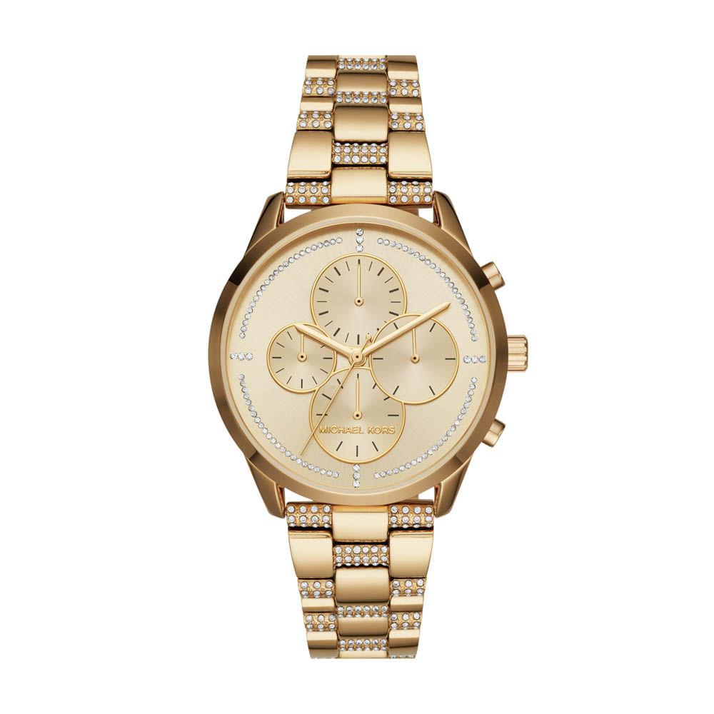 7feb6f5749b Relógio Michael Kors Feminino Slater - MK6519 5DN - timecenter