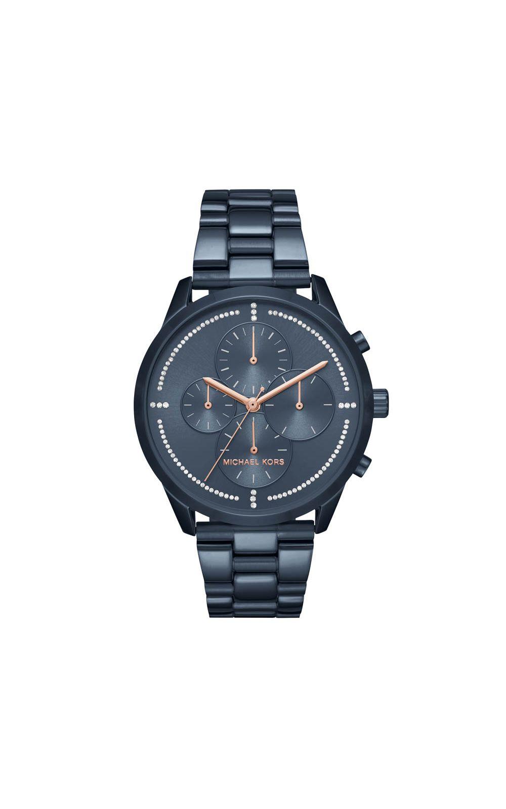 600597fdc6051 Relógio Michael Kors Feminino Azul Slater - MK6522 4AN. undefined
