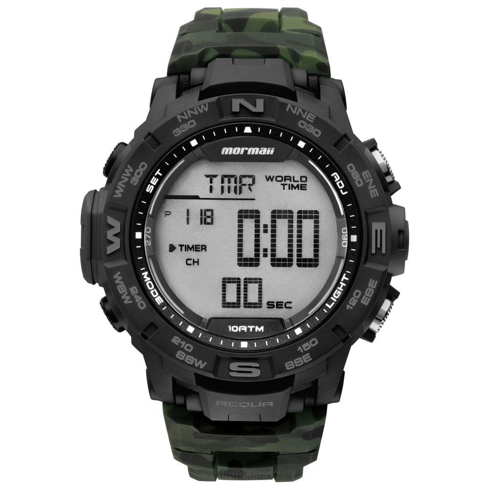 Relógio Mormaii Masculino Action - MO1173C 8V - timecenter 059ba1dde2
