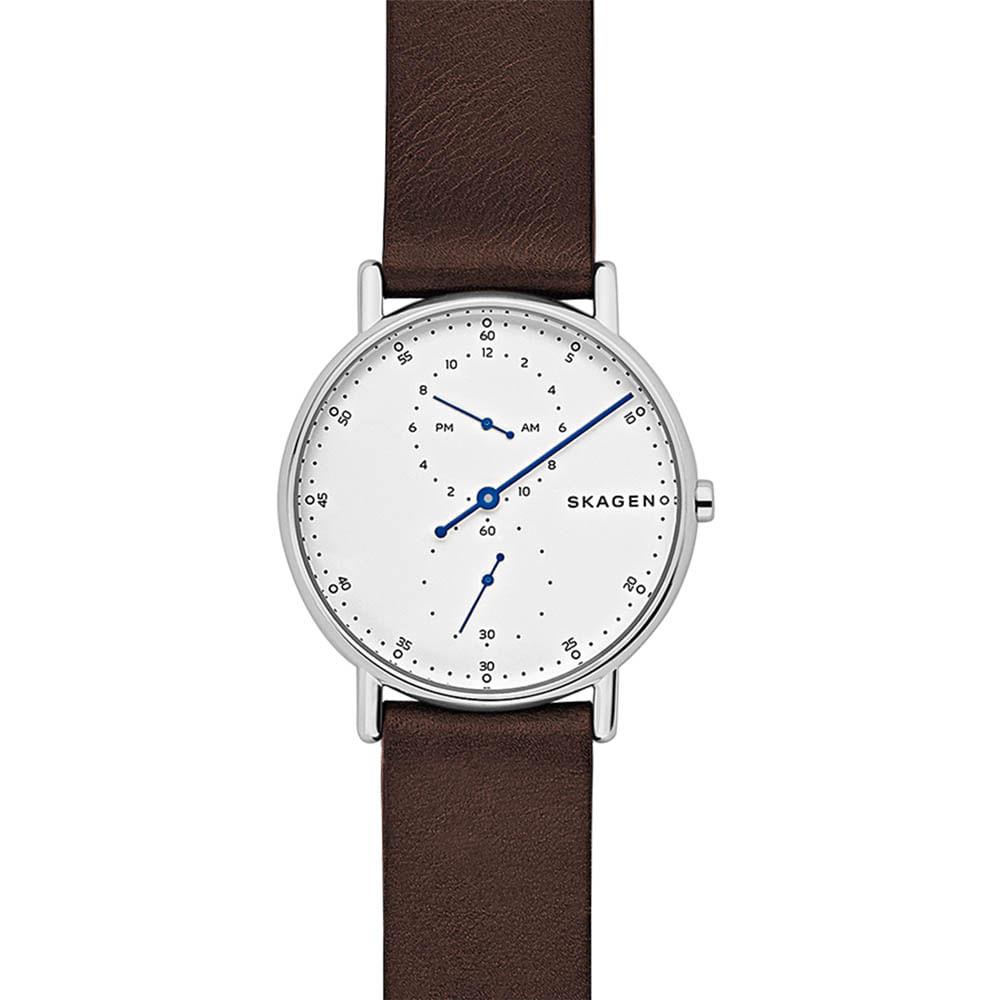 0d9be0b55d8d4 Relógio Skagen Masculino Signatur 1 Hand - SKW6391 2BN - timecenter