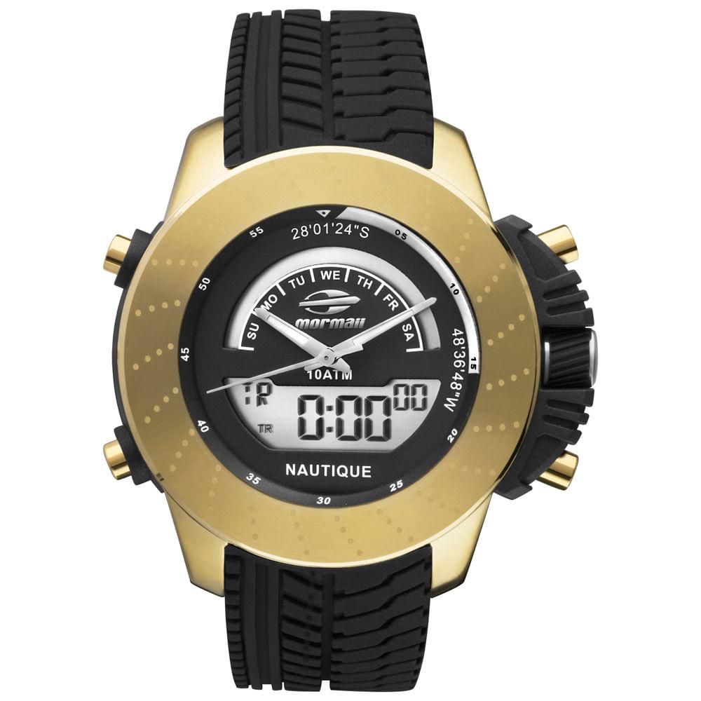 b3fe430183bd1 Relógio Mormaii Masculino Premium - MOVA003 8D - timecenter