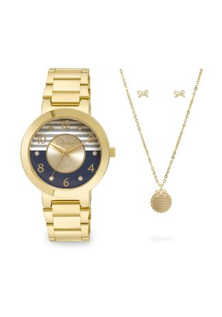 Kit-Relogio-Condor-Feminino-Braceletes-CO2035KTF-K4A---Dourado