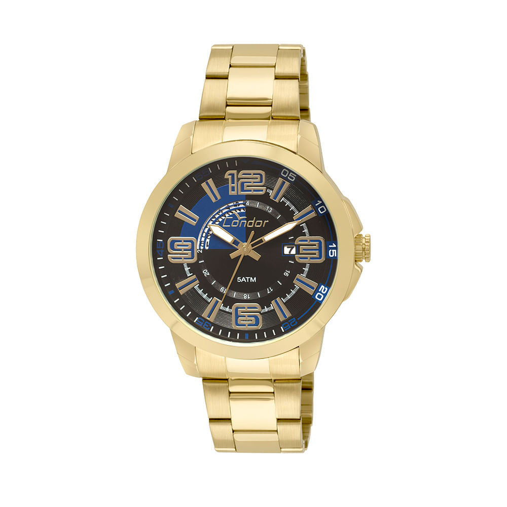 e0cb4c906b5 Relógio Condor Masculino Speed CO2115YB 4P - Dourado - timecenter