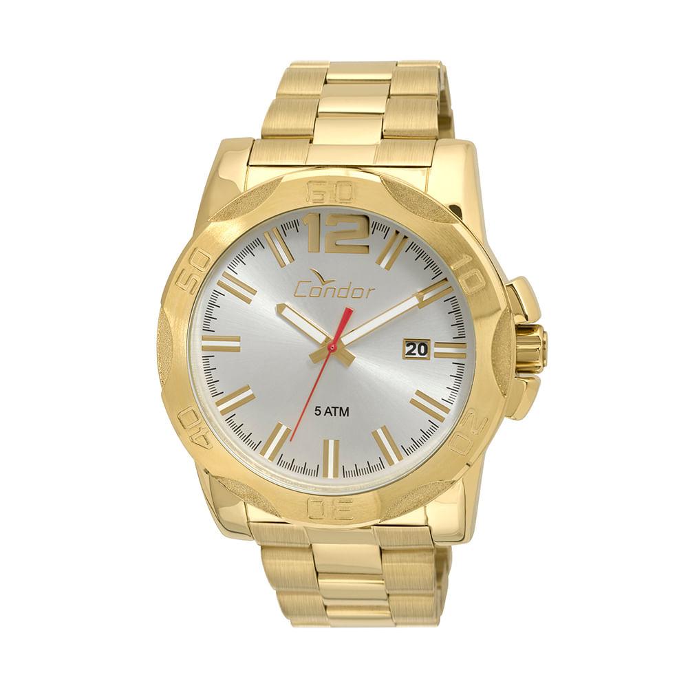 4e5116cde4b Relógio Condor Masculino Civic CO2415BF 4K - Dourado - condor