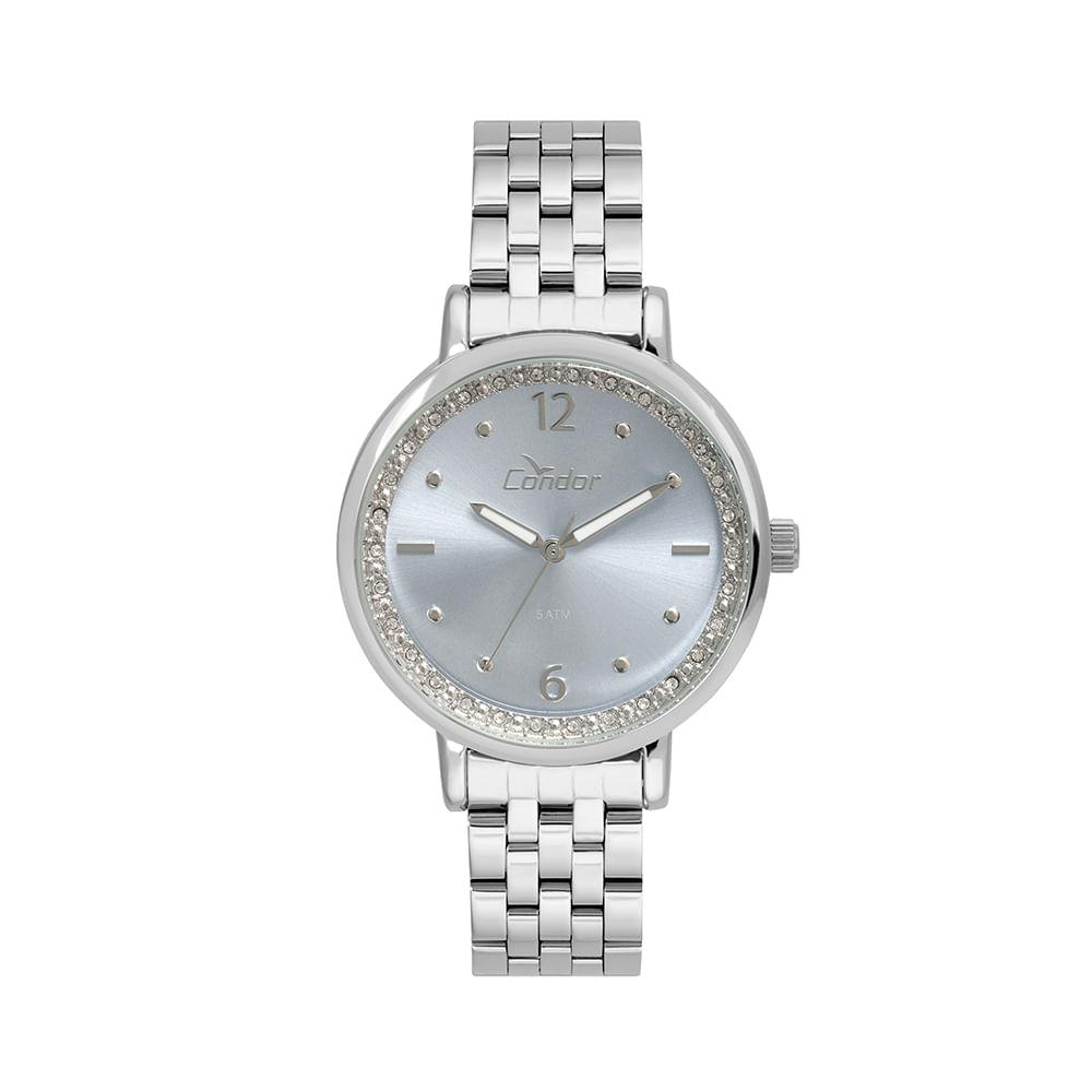 b2e761131b8 Relógio Condor Feminino Bracelete CO2035FNG 3A - Prata - timecenter
