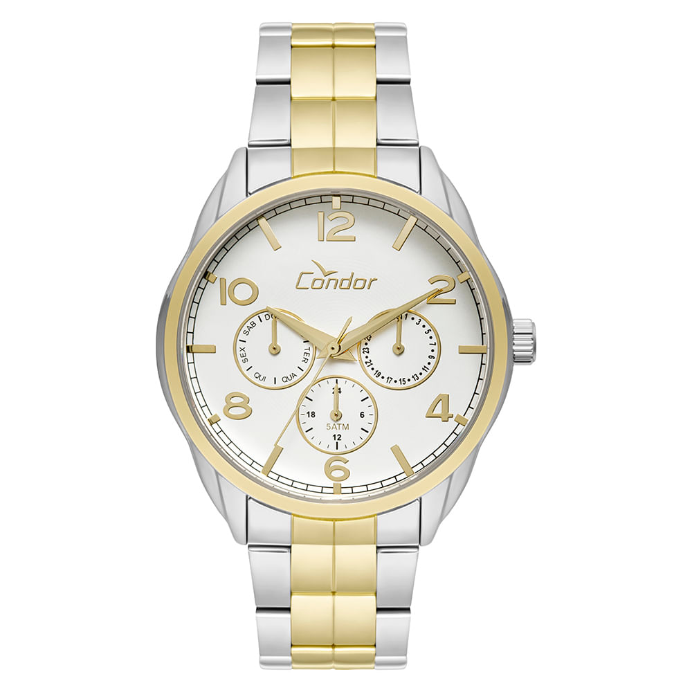 4736212c017 Relógio Condor Feminino Bracelete CO6P29IG 5K - Dourado