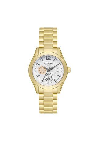 Relogio-Condor-Feminino-Braceletes-CO6P29IF-4K---Dourado