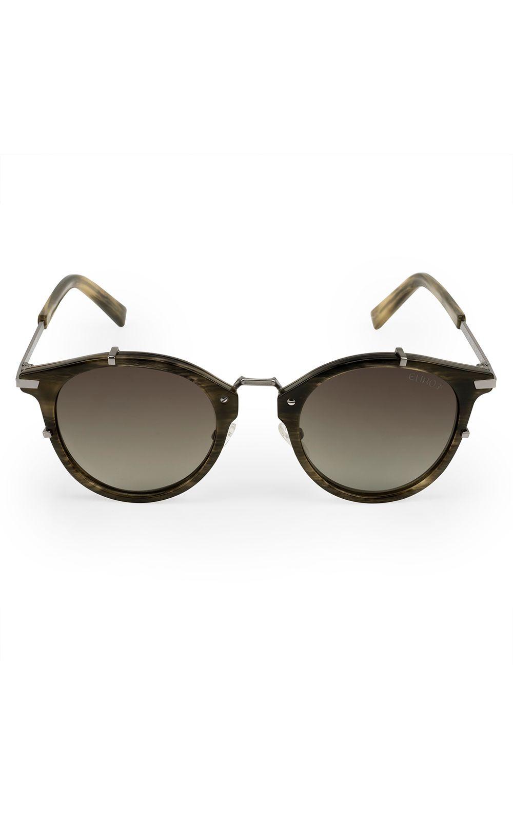 Óculos de sol Euro feminino Hit Verde Oliva OC219EU 8C. undefined a24502f84b