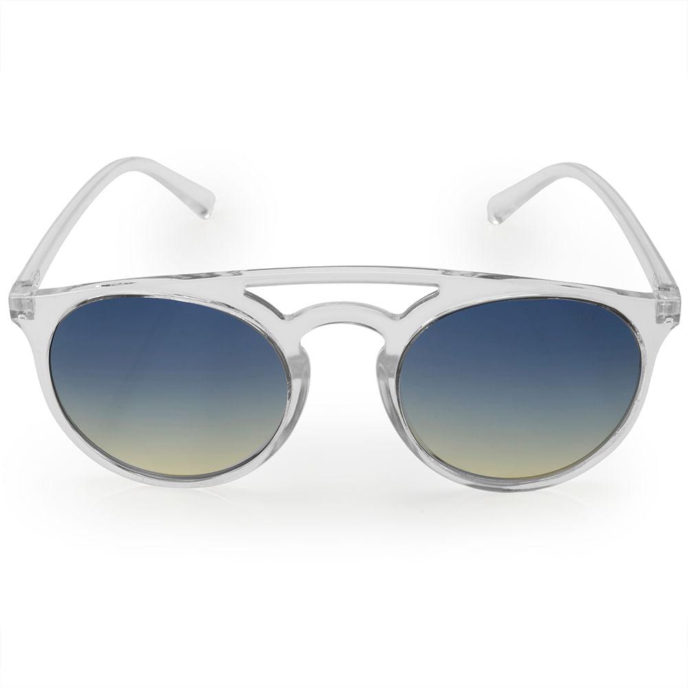 4937d2b2d Óculos de sol Euro feminino Trendy transparente E0006DB317/8A ...