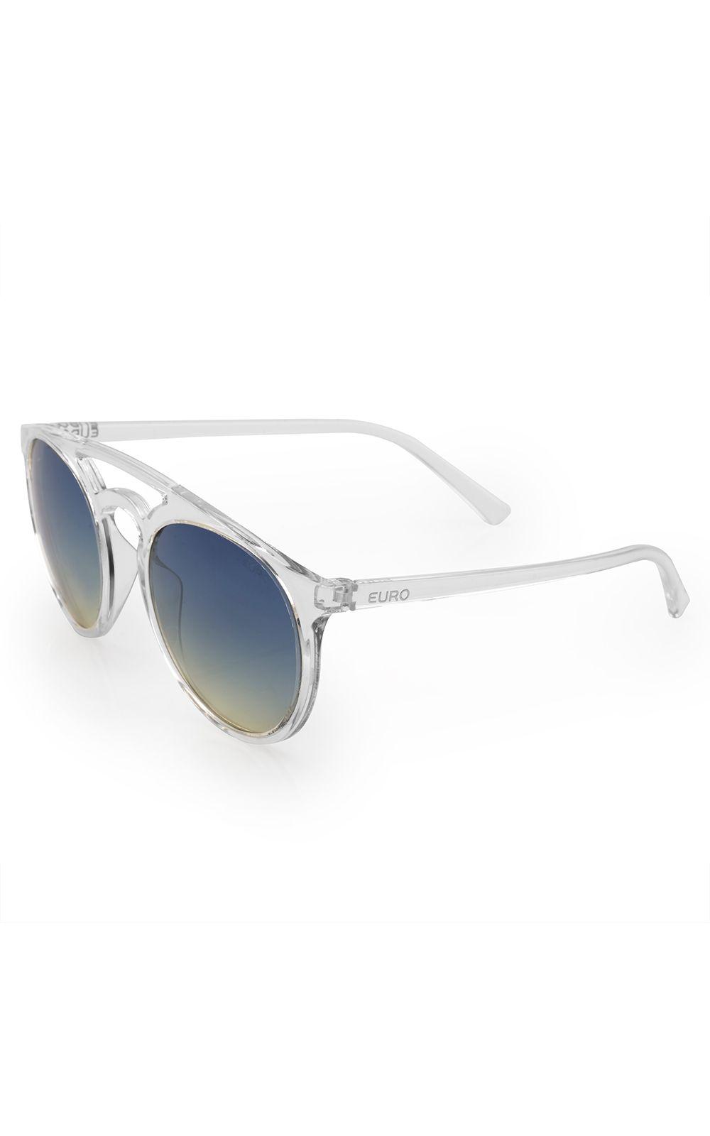 3b3a814b23c03 Óculos de sol Euro feminino Trendy transparente E0006DB317 8A   Opte+