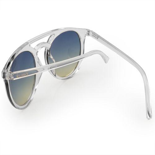 Óculos de sol Euro feminino Trendy transparente E0006DB317 8A - euro 4b1c0b9c37