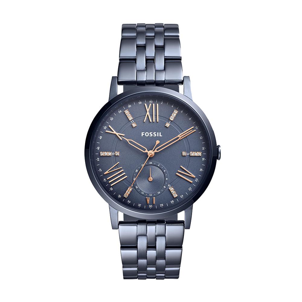 Relógio Fossil Feminino Gazer - ES4267 4CN - fossil 4cd1038675