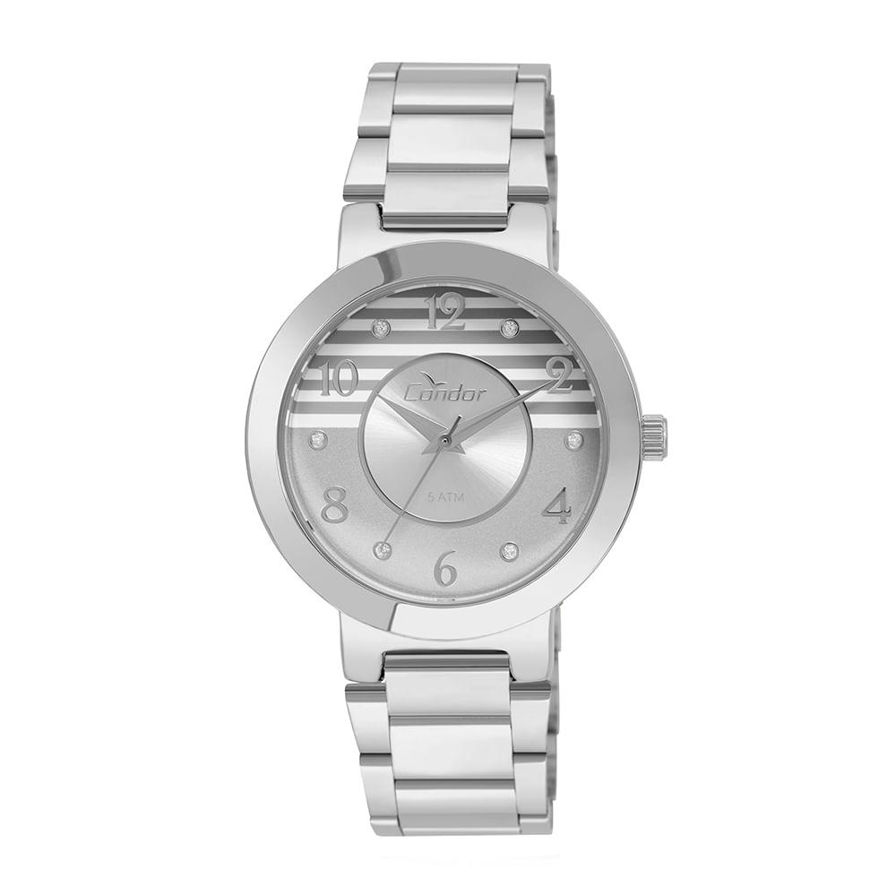 93bca9635c3 Relógio Condor Feminino bracelete CO2035KTG 3C - Prata. 0% Off. Código   CO2035KTG 3C