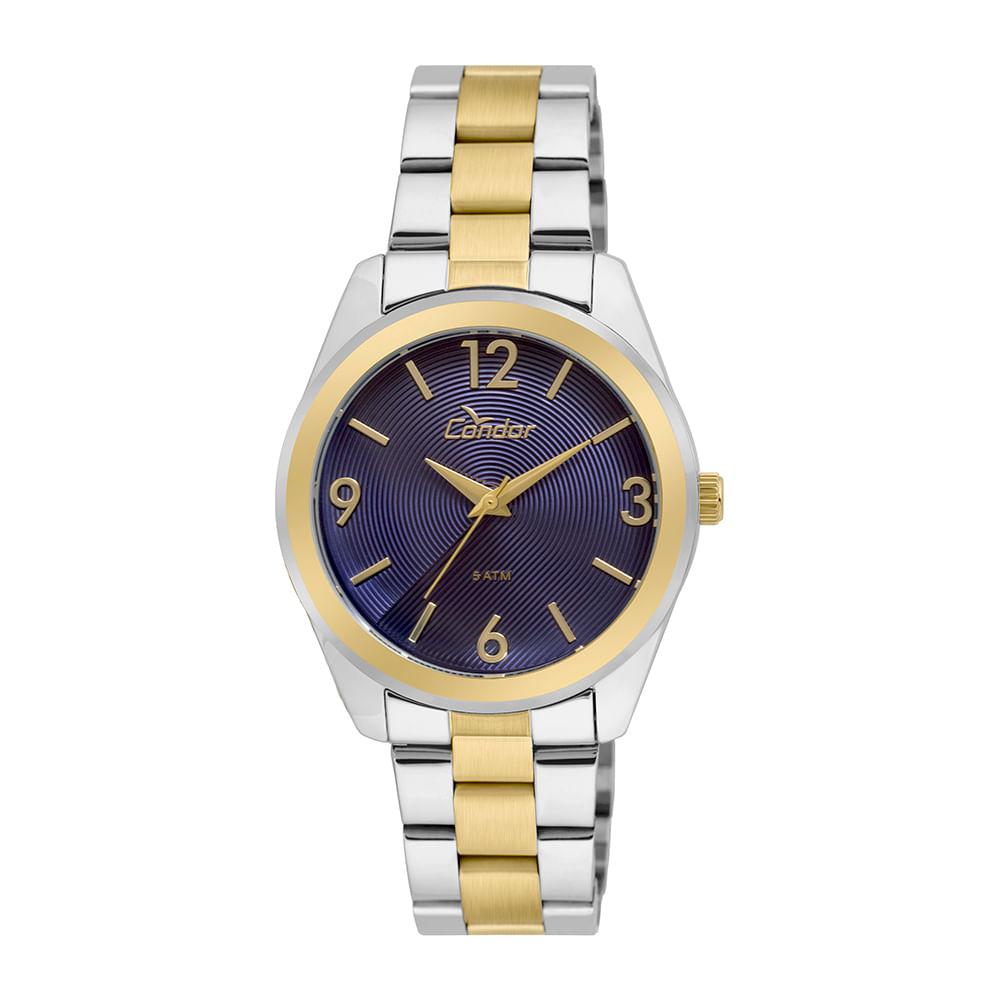 0279e96b03e Relógio Condor Feminino Bracelete CO2035KSF 5A - Prata